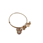 Disney Alex and Ani Bracelet - Epcot Flower and Garden Festival 2021 - Floral Mickey Icon