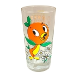 Disney Collectible Glass - Epcot Flower and Garden Festival 2021 - PASSHOLDER - Orange Bird
