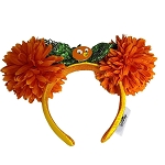 Disney Ear Headband - Epcot Flower and Garden Festival 2021 - Floral Orange Bird