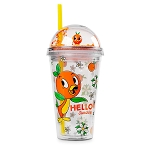 Disney Dome Tumbler w/ Straw - Epcot Flower and Garden Festival 2021 - Orange Bird