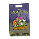 Disney Pin - Epcot Flower and Garden Festival 2021 - Donald and Daisy Duck Topiary - Limited Edition