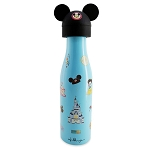 Disney Stainless Steel Water Bottle and Toppers Set by Jerrod Maruyama - Disney Parks