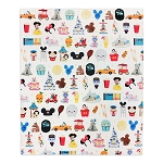 Disney Fleece Throw Blanket by Jarrod Maruyama - Disney Park Icons