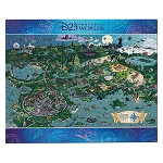 Disney Fan Club Puzzle - D23 Fantastic Worlds - 1000 Pieces