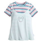 Disney Adult Tank Top and T-Shirt Set by Her Universe - Monorail Mickey Mouse Icon