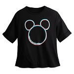 Disney Adult T Shirt by Her Universe - Monorail Mickey Mouse - Black