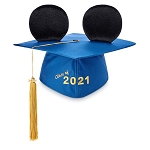 Disney Adult Mickey Mouse Ear Hat - Graduation Cap 2021
