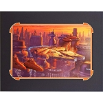Disney Artist Print - John Nadeau - Over Cloud City