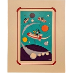 Disney Artist Print - Will Gay - Tomorrowland Rockets