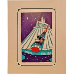 Disney Artist Print - Will Gay - Space Mountain