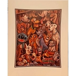 Disney Artist Print - Darren Wilson - Disney Dog Days