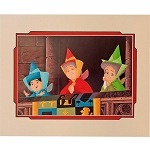 Disney Artist Print - Don 'Ducky' Williams - We Just Love Happy Endings