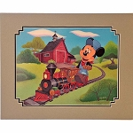 Disney Artist Print - Alex Maher - Mickey's Steam Up