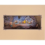 Disney Artist Print - William Silvers - Evil Awaits: Snow White