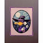 Disney Artist Print - Chris Uminga - Darkwing Duck