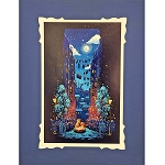 Disney Deluxe Artist Print - Josey Tsao - What A Beautiful Night