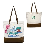 Disney Tote Bag - Starbucks Disney Parks - Walt Disney World