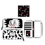 Disney Loungefly Zip Around Wallet - Villains - Cruella De Vil Spots Cosplay