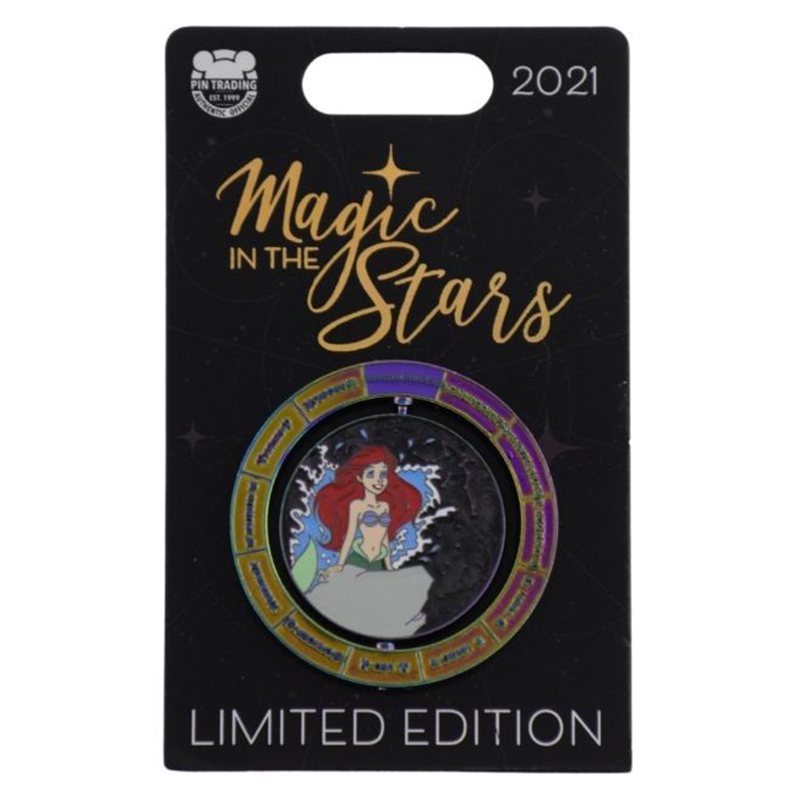 Disney Pin - Magic In The Stars Series - #2 - The Little Mermaid