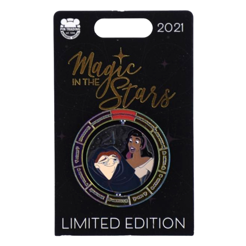 Disney Pin - Magic In The Stars Series - #1 - The Hunchback of Notre Dame