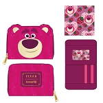 Disney Loungefly Zip Around Wallet - Pixar - Lotso Sherpa Cosplay
