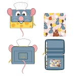 Disney Loungefly Zip Around Wallet - Pixar - Ratatouille Chef Cosplay