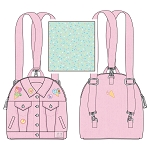 Loungefly Convertible Mini Backpack - Pokemon Ice Cream Denim Jacket