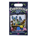 Disney Pin - Cinderella 70th Anniversary - Limited Edition - Mice and Birds Making Dress