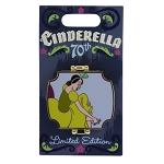 Disney Pin - Cinderella 70th Anniversary - Limited Edition - Sisters - Tri-Fold