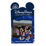 Disney Pin - Disney Parks Adventure - Mickey and Minnie Mouse