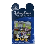 Disney Pin - Disney Parks Adventure - Donald and Daisy Duck