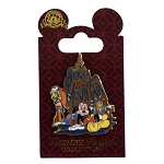 Disney Pin - Disney  Attractions - Splash Mountain - Soaking Wet