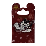 Disney Christmas Pin - Mickey and Minnie Mouse - Sleigh Ride