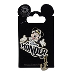 Disney Cruise Line Pin - Disney Wonder - Captain Mickey Mouse