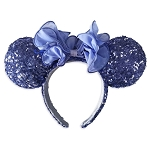 Disney Minnie Mouse Sequined Ear Headband - Iris