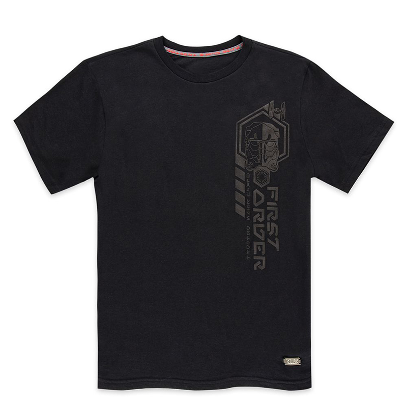 Disney Men's Shirt - Star Wars Galaxy's Edge - First Order Forces