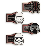 Disney Four Pin Booster Set - Star Wars Galaxy's Edge - First Order