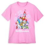 Disney Youth Shirt - Walt Disney World - Toy Story Characters with Castle
