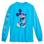 Disney Adult Long Sleeve Shirt - Walt Disney World - Mickey Mouse