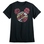 Disney Adult Shirt - Mickey Mouse Icon Graphic Text