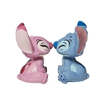 Disney Salt and Pepper Shaker Set - Stitch and Angel