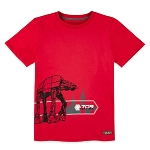 Disney Youth Shirt - Star Wars Galaxy's Edge - First Order 709 - Red Fury