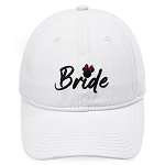 Disney Adult Baseball Cap - Minnie Mouse Icon - Bride