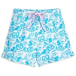 Disney Women's Lounge Shorts - Walt Disney World Retro Icons