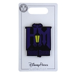 Disney Pin- Walt Disney Ride Attractions - Haunted Mansion - Logo
