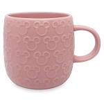Disney Mug - Mickey Mouse Raised Icon - Pink
