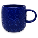 Disney Mug - Mickey Mouse Raised Icon - Blue