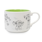 Disney Coffee Cup - Animation Sketch - Toy Story - Buzz Lightyear