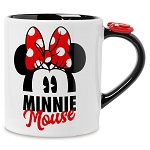 Disney Coffee Cup - Minnie Mouse Bow Topped Handle