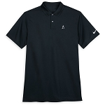 Disney Men's Shirt - Mickey Mouse Performance Polo by Nike - Black